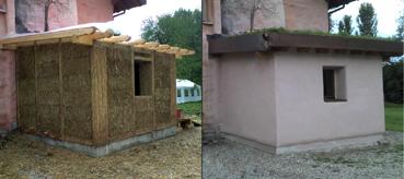 Bioregionalismo treia imparare a costruire con le balle - Costruire casa paglia ...